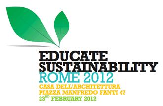 Educate Sustainability Rome 2012