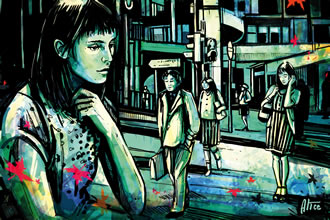 Cave of Tales by Alice Pasquini