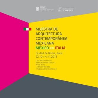 Muestra de arquitectura contemporánea mexicana