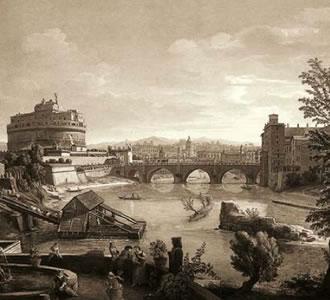 Modo di far navigabile il fiume Tevere da Perugia a Roma