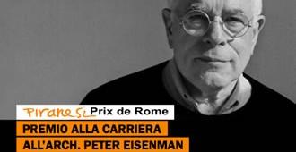 Premio alla carriera a Peter Eisenman