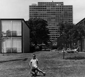 Lafayette Park / Detroit - La forma dell'insediamento