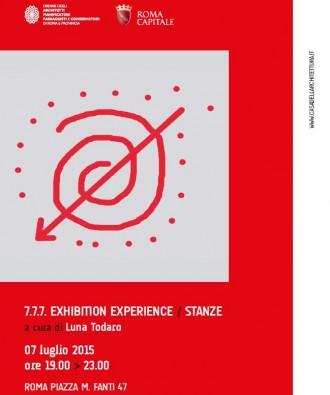 7.7.7. EXHIBITION EXPERIENCE / STANZE