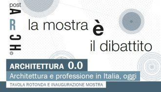 Architettura 0.0 architettura e professione oggi in italia