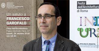 Un saluto a Francesco Garofalo