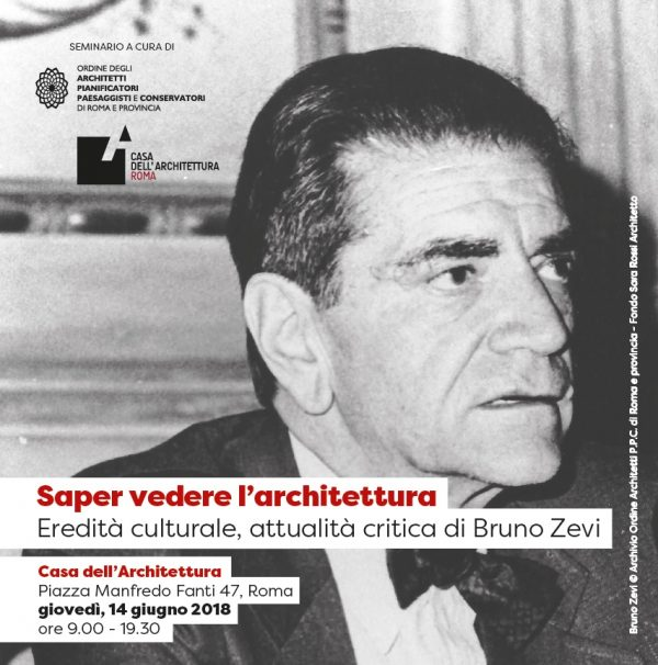 Saper vedere l architettura eredit culturale attualit for Bruno zevi saper vedere l architettura