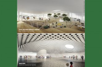 Architetture per la cultura in Finlandia. I nuovi progetti Amos Rex e Oodi.Talk con JKMM Architects e ALA Architects