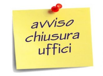 Chiusura Uffici 30.01.2019
