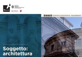 Soggetto: architettura