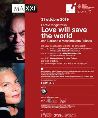 Lectio magistralis. Doriana e Massimiliano Fuksas